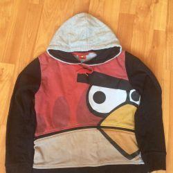 Sweatshirt Angry Birds)))