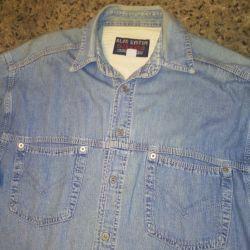 рубашки джинсы и др