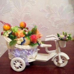 Bir bisiklet içinde Topiary