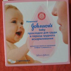 Breast pads gohnsons baby