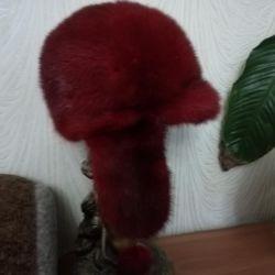 Mink καπέλο !!!!