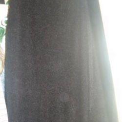 Черная юбка размер 50-52