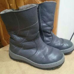 Χειμερινές μπότες. Φυσικά