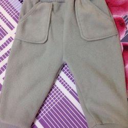 Fleece panty pants, 80 size