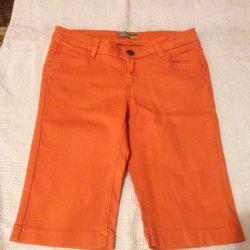 Шорты оранжевые 44 размер