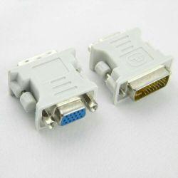 Переходник адаптер DVI (DVI-I) штекер - VGA гнездо
