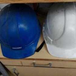 kullanılan inşaat kaskları