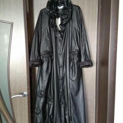 Эксклюзивный плащ пальто