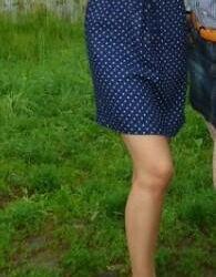 Φόρεμα Polka Dot