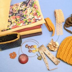 Set for sewing clothes for dolls, toys