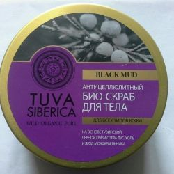 Anti-cellulite body scrub Tuva siberica 300ml