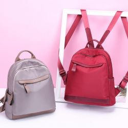 🎀 Burgundy backpack