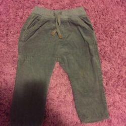 Corduroy Pants Zara. Chic, trendy!