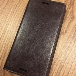 NEW Case Book for Sony Z3