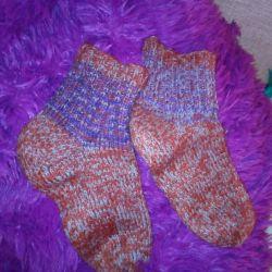 Pp șosete tricotate 42.