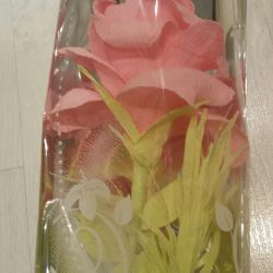 Подарок-конфетная роза