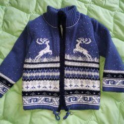 sweater toddler warm wool