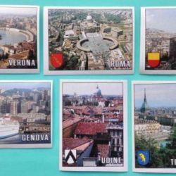 Παναγή Αυτοκόλλητα Παγκόσμιο Κύπελλο 1990 Πόλεις Πανόραμα
