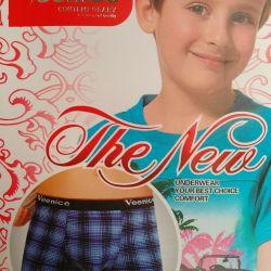 Children's men's underpants