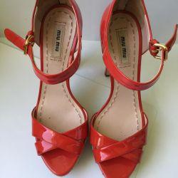 Sandals MIU MIU