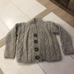 Knitted cardigan for children
