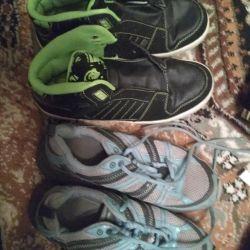 кроссовки для подростка 37-38