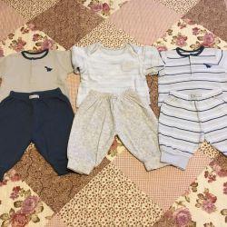 Costume pentru copii 0-3mes 3 buc