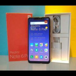 Xiaomi redmi note 6 pro (4 / 64GB) (new, warranty)