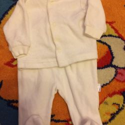 Velor suit in perfect condition