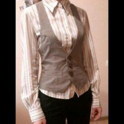 Shirt + vest