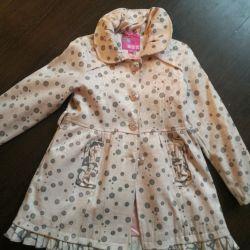 Ceket - kız için bir pelerin