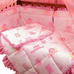 Bumpers, sheets, blanket, pillow, canopy. NEW !!!