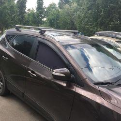 The trunk of the Hyundai IX 35