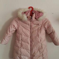 Χειμερινό παλτό για κορίτσια.