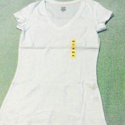 T-shirt λευκό νέο μέγεθος 42