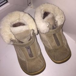 Winter natural boots