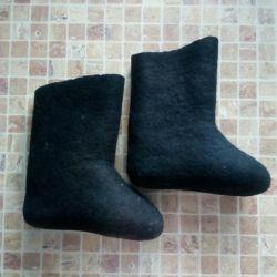Μαύρες μπότες παιδιών