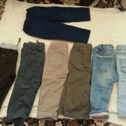 Pantaloni calzi și demi-sezonieri