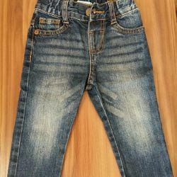 Jeans p.9-12 luni
