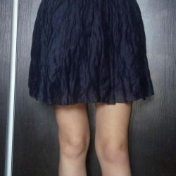 Μωβ φούστα
