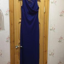 Rochie de seară la podea.