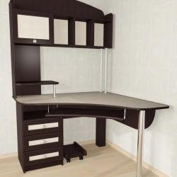 Компьютерный стол угловой Мебелайн-11