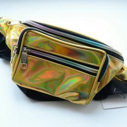 Holographic Belt Bag