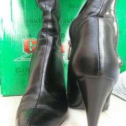 Boots winter leather Grand Style