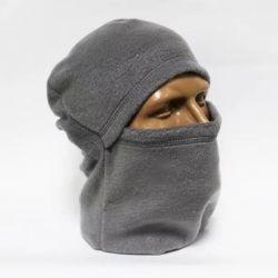 Балаклава (маска, подшлемник) флисовая серая
