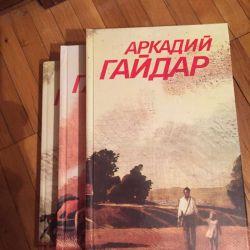Arkady Gaidar 3 volumes