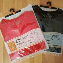 New T-shirts 98/104, 110/116 Germany