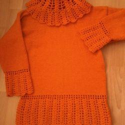 pulover nou pentru fete, manual, p. 38-40