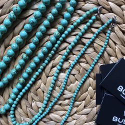 Green Turquoise Beads