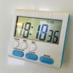 Χρονοδιακόπτης με ρολόι, μεγάλους αριθμούς και δυνατό ήχο